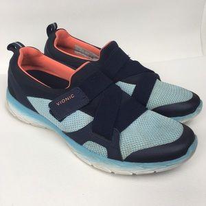 VIONIC Sz 11 Orthaheel Comfort Sneakers Women's